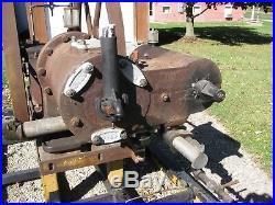15 hp reid oil field engine hitmiss