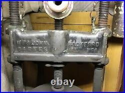 1885 W F & JOHN BARNES hit miss steam engine FORD Model A T old auto SCREW PRESS