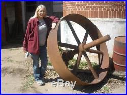 1900's 20hp 25hp Steam engine stationary hit miss RESTORATION PROJECT 5 Flywheel