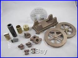 1902 Parsell and Weed Hit and Miss Engine Model Casting Kit, Plans Castings Hz