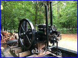 1910 Deutz Otto 10 HP Stationary Engine Hit & Miss Sideshaft Throttle Governed
