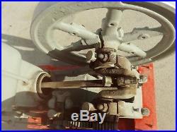 1918 Antique 3 hp Hercules Hit Miss Gas Engine Open 475 r. P. M. 3EK