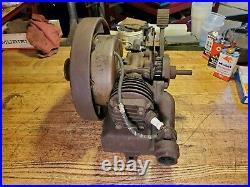 1920's JOHNSON UTILIMOTOR Waukegan Illinois Hit Miss Engine Restoration Project