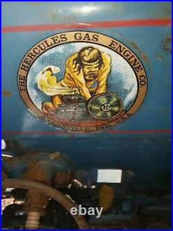 1924 Hercules Gas Engine