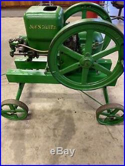 1935 John Deere 3HP Hit & Miss Engine