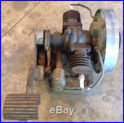 1940 ANTIQUE MAYTAG MODEL 72 TWIN CYLNDER ENGINE Hit And Miss Motor RUNS