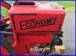 1 1/2 ECONOMY HIT & MISS GAS ENGINE. Running Engine, Great Condition