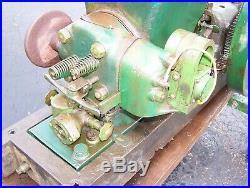 1 1/2hp FAIRBANKS MORSE Z Hit Miss Type SUMTER Plugoscillator Gas Engine NICE