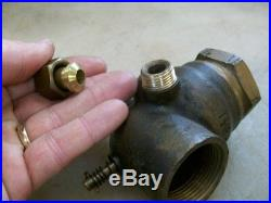 1-1/4 RIGHT HAND LUNKENHEIMER CARB or FUEL MIXER Old Gas Hit and Miss Engine