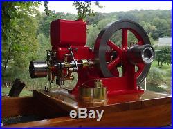 1/2 Scale Debolt Vaughn Model Antique Hit and Miss Engine. NICE