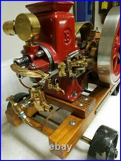 1/2 Scale Olds Hit and Miss Model Engine, Breisch