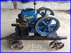 1 3/4hp Independent Harvester hit & miss gas engine Antique motor