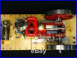 1/3 Scale Associated gas powered model Hit and Miss engine motor, antique &