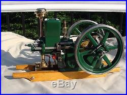 1/3 scale Associated Hit and Miss Little Brother model engine Breisch Castings