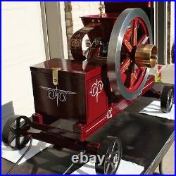 1.5 HP NEW HOLLAND STATIONARY HIT MISS Model Gas Engine THIS IS SERIAL # 1