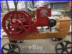 1.5 HP Neward Antique hit and miss Stationary Gas Engine