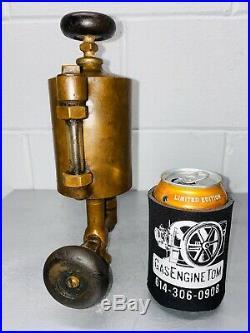 1 Pt Powell Boson Gas Engine Bessemer Cylinder Oiler Hit Miss Antique Steampunk