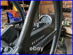 22 Hp Bessemer Oil Field Engine Hit and Miss Steam Engine Industrial