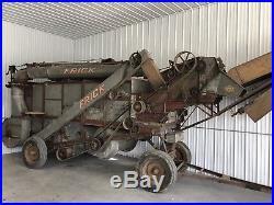 28 Inch Frick Threshing Machine. Steam Engine, antique Tractor. Hit Miss