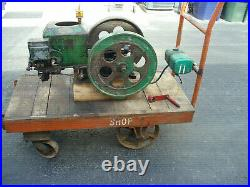 2HP Stover Hit & Miss Engine with cart