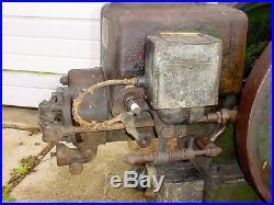 2 1/2 hp Alpha De LaVal Hit Miss Gas Engine Barn Fresh Original