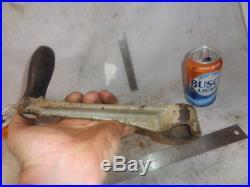 2 1/2 hp Rawleigh Schyrer starting hand crank for hit miss gas engine
