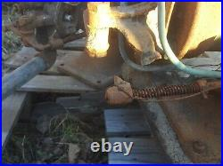 2 gas engine hit miss 1 1/2 ihc lots and lots parts