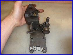 303K25 WEBSTER IGNITER BRACKET for STOVER Hit and Miss Gas Engine Old and Nice