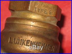 3/4 Lunkenheimer Left Hand Carburator Hit Miss Gas Engine