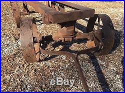 3-5 HP Rock Island Plow Alamo Empire Hit And Miss Stationary Gas Engine Cart