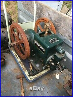 3 Antique Gas Engine 1 1/2 3 5 H. P. Stationary / Hit Miss Style 2074232043
