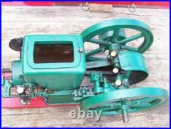 3hp FULLER JOHNSON N Hit Miss Gas Engine Ignitor Steam Tractor Oiler Motor NICE