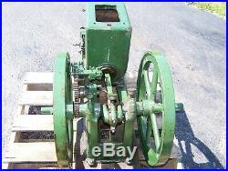 3hp FULLER JOHNSON N Hit Miss Gas Engine Steam Tractor Magneto Motor Oiler