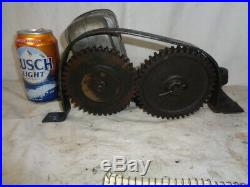 6 hp Fairbanks Morse J magneto and gear driven bracket HOT hit miss gas engine