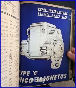 8-Antique HIT & MISS ENGINE Vintage Tractor MAGNETO PARTS/SERVICE Books CATALOGS