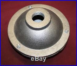 9 Inch Cast Iron Muffler Gas Engine Motor Flywheel Hit & Miss 1.25 NPT