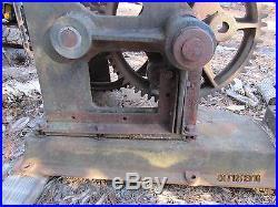 ARACO oilwell pump jack oilfield, hit miss engine american railway appl company