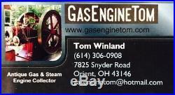 A. B. Farquhar Co. Steam Gauge BRASS steampunk tractor hit miss gas engine gage