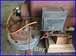 Antique 1924 Witte 5 HP Throttler Hit and Miss Gas Engine, Works, Wico EK, (CXX)