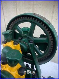 Antique 1930s Hardie Farm Water Pump Hit & Miss Engine Industrial Steampunk