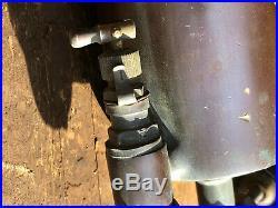 Antique AMERICAN INJ Lubricator Detriot Brass Oiler Hit Miss Steam Engine 1 Qt