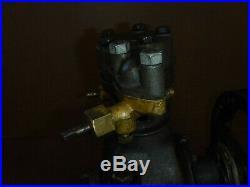 Antique Air Compressor For Hit & Miss Engine Display Gas Engine Motor