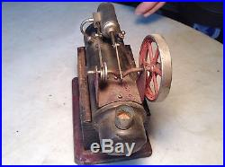 Antique Circa 1900 J F Child's Steam Engine Toy Hit Miss Germany- Project