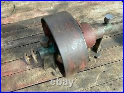 Antique Clutch Pulley Flat Belt for Hit Miss Engine Variable Speed Line Shaft