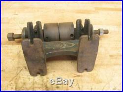 Antique Craftsman Hit & Miss Engine Line Shaft Flat Belt Pulley Grinder Arbor