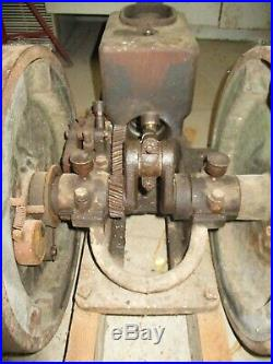 Antique Delaval Or Lauson Hit Miss Engine No Tag 1-1/2 H. P