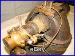 Antique Electric Dynamo Generator DC Motor Hit Miss Engine Industrial Edison era