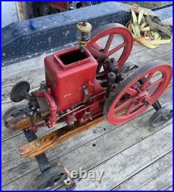Antique Emerson Brantingham EB Hit Miss Gas Engine 1 1/2HP Project