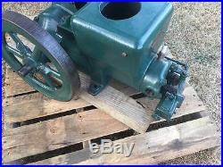 Antique Fairbanks Morse 3 H. P. Z Hit Miss Flywheel Gas Engine Running shape