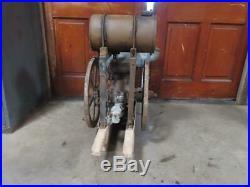Antique Fairmont Rail Road Railway Speeder Car Hit & Miss Engine 5-8 HP Type OD